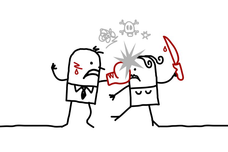 Liebe und Gewalt: 4 Hauptgründe warum Liebe in Hass umschlägt